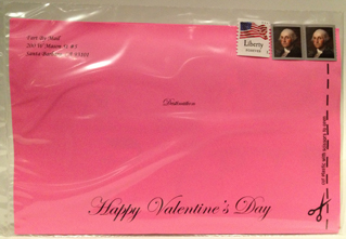 Valentine's Day Mailer Front